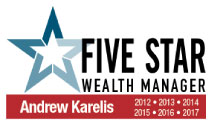 Andrew Karelis Wealth Manager 2016